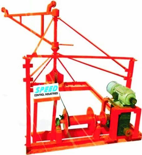 construction Machinery Monkey Lift,Bar Cutting Machine Etc - Builder