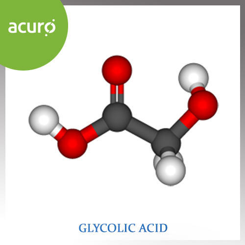 Glycolic Acid, For Industrial, Rs 220 /kilogram, Acuro