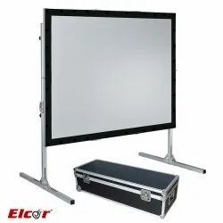 Fast Folding Projection Screens