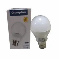 Round 7 W 7W Crompton LED Bulb