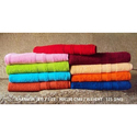 Solid Plain Bath Towel, Size: 30x60 , Weight: 450 Gsm