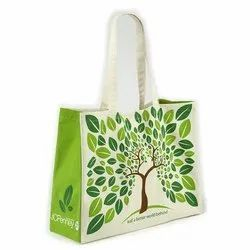 Tree Printed Canvas Bag