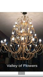 Glass Ceiling Decorative Jhoomer Lights