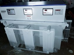 500 Kva Three Phase Power Servo Stabilizers Industrial 500 KVA, 300 - 500 Volts, With Surge Protection