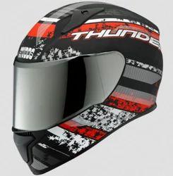 Studds Thunder D1 Matt Black N2 Helmet (L/580mm)