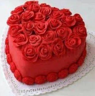 Miraculous Heart Roses Designer Cake At Rs 1049 Kilogram New Ashok Nagar Funny Birthday Cards Online Elaedamsfinfo