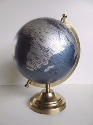 Full Solid Brass Stand World Globe