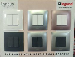 Legrand Lyncus Modular Switches