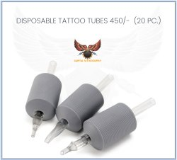 Disposable Tattoo Tubes (20 pc)