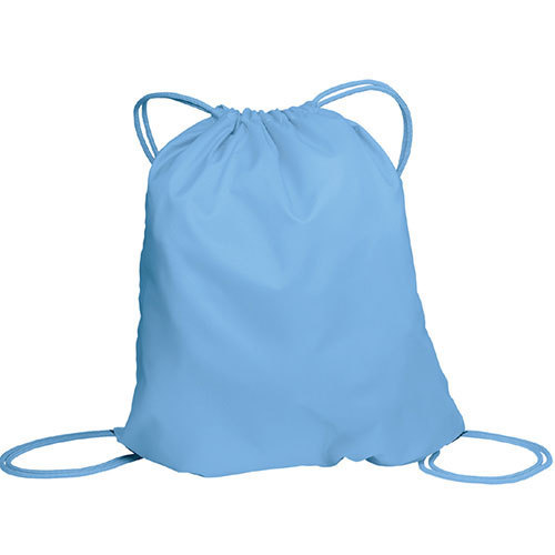 3dcea8d69a5a Blue Plain Designer Drawstring Bag
