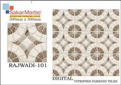 Rajwadi 101 Digitlal Vitrified Parking Tiles