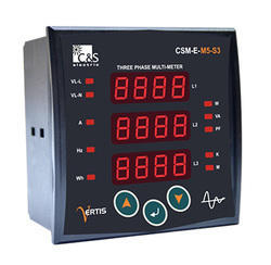 C&S Digital 3 Phase Multifunction Meter : CSM-E-M5-S3