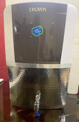 Crown Domestic RO UV Water Purifier In Ss Sparkle Tank - 8L