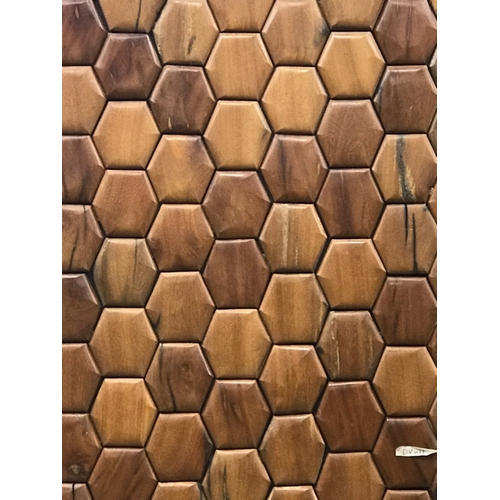 Rectangular Wooden Wall Panels For