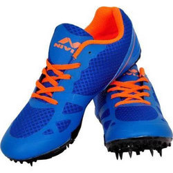 Nivia Lace-Up Spikes Running Sports