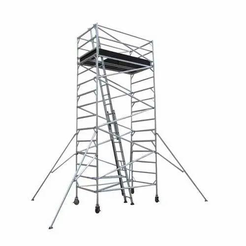 Aluminium Tower Ladder, Dimension: 66 x 32 x 3.18 mm