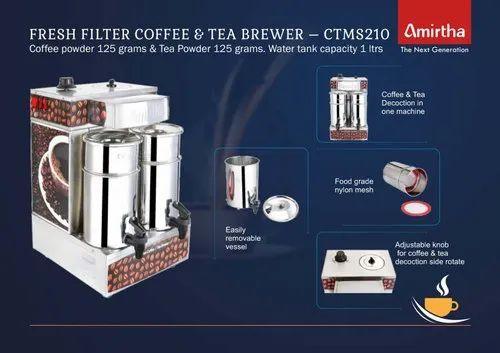 Fresh Filter Coffee & Tea Brewing Maker