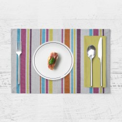 Anjaneya Multicolor Table Mats, Size: 33x48 Cm, 4 Pieces