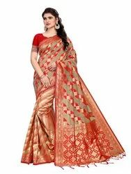 285 Bridal Wear Handloom Silk Saree