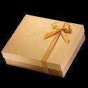 Beige Cardboard Square Sweet Box