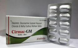 Diacerin 50mg & Glucosamine Sulphate Tablet