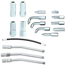 Grease Gun Accessories - Coupler Adapters, Hose Pipe & Spout