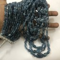 AAA Santa Maria Aquamarine Smooth Oval Beads Necklace
