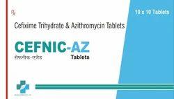 Cefixime & Azithromycin Tab