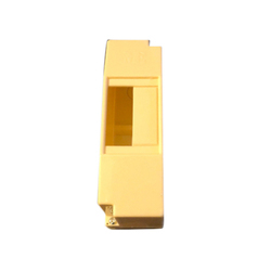 Yellow ABS 1 To 2 Pole MCB Box