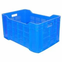 Perforated Plastic Crate