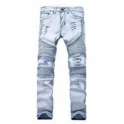 Denim Comfort Fit Mens Designer Jeans