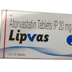Atorvastatin Tablet IP 20 mg