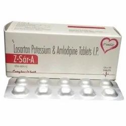 Losartan Potassium and Amlodipine Tablets IP