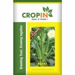 Hybrid Cropin Ladyfinger Seeds, Packaging Size: 1 Kg