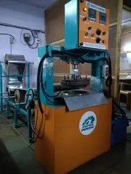 Multi purpose Hydraulic Dona and Thali Making Machine