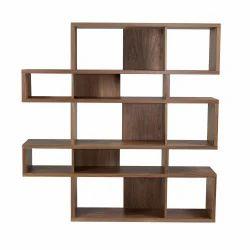 Wooden Brown Storage Rack