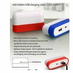 3000 MAH Caplet Power Bank
