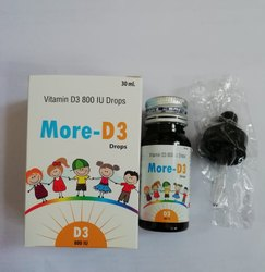 Saillon Pharma Vitamin D3 Drops, Pack Size: 30 mL