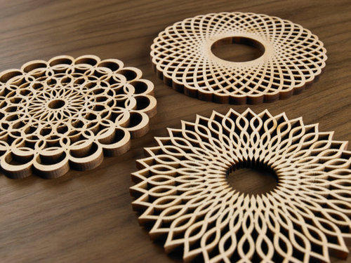 Wood Laser Engraving Service in New Delhi, Shahbad Daulatpur