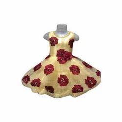 Pranjal Party Wear Kids Girl Designer Frock 12/14