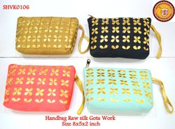 Handbags Rawsilk Gotawork