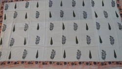 Hand Block Printed Cotton Beach Wrap