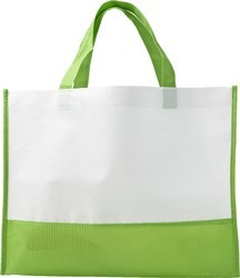 White Non Woven Carry Bags, Bag Size: 8 X 10