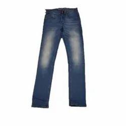Regular Fit Casual Wear Mens Faded Denim Jeans, Waist Size: 28-36