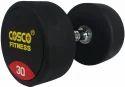 Round Dumbbell Rubber 30 kgs 28408