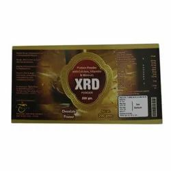 Whey Proteins XRD Protein Powder, Packaging Type: Bottle