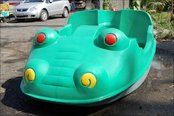 2 Seater Crocodile Model Paddle Boats