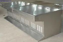 SS Sheet Metal Fabrication Work