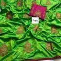 Sana Silk Embroidered Saree