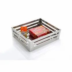 Stainless Steel Square Kitchen Basket